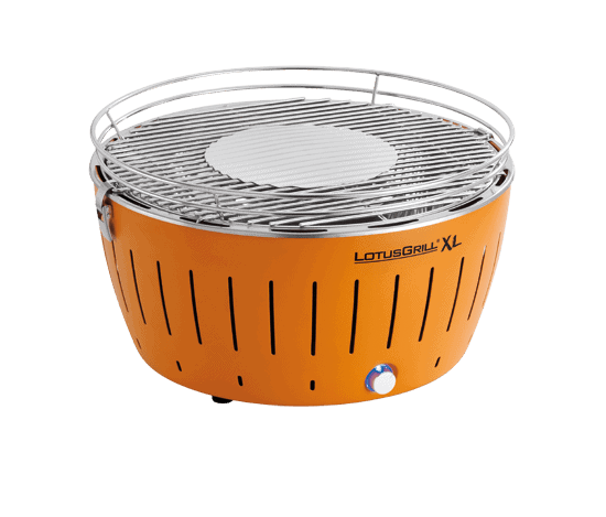 Barbacoa eléctrica Lotusgrill G-OR-435, color naranja mandarina